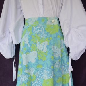 Erio Bocci Skirts - Vintage Erio Bocci Key west fabrics maxi skirt